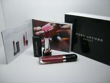 MARC JACOBS NIB LOVE AND LUST 2 PC LIP SET CABARET LIP GEL, SHOOTING STARS VINYL