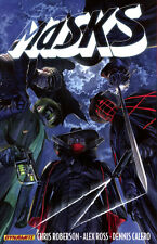 MASKS VOL #1 TPB Roberson, Ross, Comics #1-8 TP SHADOW, GREEN HORNET, ZORRO, ETC