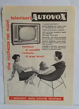 D12  PUBBLICITA' CLIPPING ANNO 1959 - TELEVISORI AUTOVOX