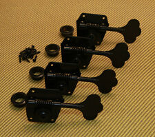 Gotoh Black Reverse Wind Bass Tuners For 50S 60s Reissue Fender TK-0790-003