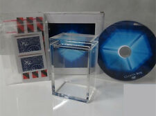 The Clarity Box+DVD,Close Up Magic Tricks,Card Magic,Mentanlism,Gimmick