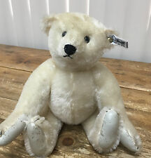 """Steiff W Germany 0158/31 Collectors Edition 1985 12"""" Teddy Bear White Tag As Is"""