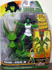 MARVEL LEGENDS Collection__SHE-HULK action figure_FIN FANG FOOM Series_New & MIP