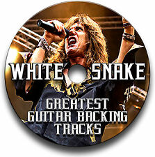 21 WHITESNAKE STYLE MP3 ROCK GUITAR BACKING JAM TRACKS CD LIBRARY COLLECTION