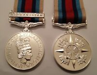 Afghanistan Op Herrick Medal, Loose, Court or Swing Mounted Option, Full Size