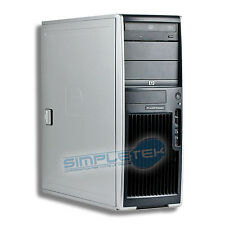 WORKSTATION HP XW4300, WINDOWS 7, SCHEDA VIDEO DEDICATA 1 GB, INTEL PENTIUM 4