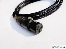"C04 (1m 3ft) --- 6.35mm Jack 1/4"" TRS(male) to Balanced XLR(Female) 4N-OFC Cable"