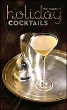 Hardcover Beverages Book HOLIDAY COCKTAILS Mr. Boston RECIPES FOR DRINKS illus.