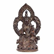 Nepal 18./19. Jh. A Nepalese Bronze Figure of Shiva & Parvati Statuette Népalais