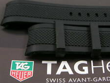 SUPERB SOFT SILICONE RUBBER STRAP FOR TAG HEUER CARRERA ALL 24MM TAG WATCHES