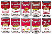 Campbell's Soup-Series II Suite (Sunday B. Morning), Silk-screen, Andy Warhol