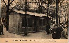 CPA PARIS FOIRE Vue d'un groupe de deux boutiques (305402)