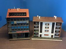 N Scale European Storefront And Apartment Building Lot #2