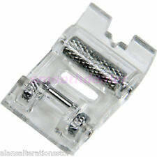 Domestic Sewing Machine Clip On / Clip Off Leather Roller Presser Foot Shoe