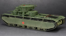 Finished Product S-Model CP0335 1/72 T-35 Heavy Tank