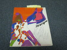 1/14/69 NBA All-Star Game Program Autographed Russo Robinson Sloan Unseld