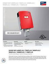 SMA Sunny Boy 8000TL-US-10 Inverter (208V)
