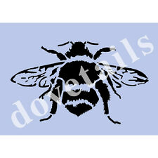 Big Bumble Bee Plantilla Vintage A4 Mylar Shabby Chic De Tela De Muebles De Pared 003