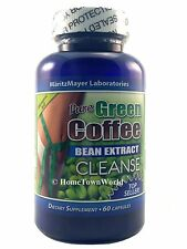 NEW PURE GREEN COFFEE BEAN EXTRACT CLEANSE 800mg DIET BODY DETOX WEIGHTLOSS 60c