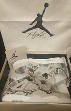 "NIKE AIR JORDAN 4 RETRO PREMIUM ""PINNACLE SNAKESKIN"" MEN'S SZ 14 PONY SPACE JAM"