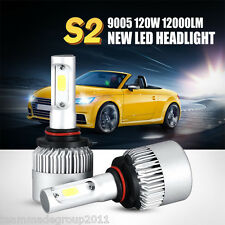 Pair 120W 12000LM 9005 / HB3 LED Headlights Kit HID Replacement High Power Car