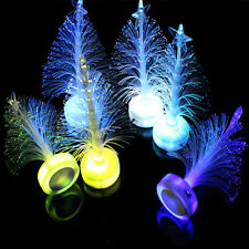 Colorful LED Fiber Optic Nightlight Christmas Tree Lamp Light Children Xmas FG