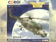CORGI 1/72 WESTLAND LYNX HMA8 BLACK CATS HELICOPTER DISPLAY TEAM 702 NAS AA39005