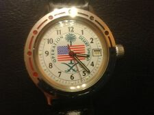 Rare VOSTOK  OPERATION  DESERT SHIELD WATCH cal.2446