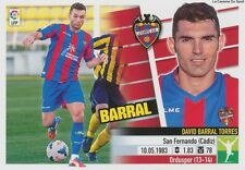 N°34 DAVID BARRAL # ESPANA LEVANTE.UD ULTIMOS STICKER PANINI ESTE LIGA 2014