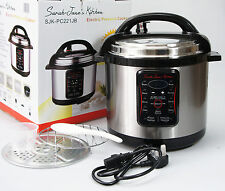 6L Electric Pressure Cooker 10 Function Automatic 240v Rice Cooker Pot Steamer
