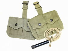 British Enfield Ammo Pouch 2 and Cleaning Kit Set