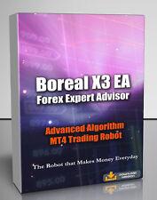 Boreal X3 EA EURUSD Scalper - Forex Mt4 Expert Advisor