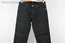 A.P.C. APC Waxed Raw Selvedge Waterproof Made In Japan Denim Jeans size 29 30x31