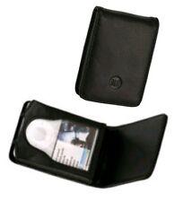 Neue schicke schwarze Ledertasche für iPod nano 3G Schutzhülle Etui Leather Case