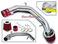 BCP RED 99-04 VW Golf Jetta 2.8 VR6 Polish Cold Air Intake System + Filter