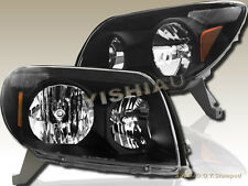 Black OE Style Headlights Head Lamps For 2003-2005 Toyota 4Runner