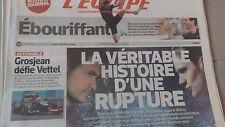 L'EQUIPE N°21561 28 JUILLET 2013  YAGNEL VS PELLERIN/ MUFFAT/ LAVILLENIE/ PARKER