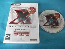 X3 X 3 REUNION PC DVD-ROM V.G.C. FAST POST ( GOTY, game of the year edition )