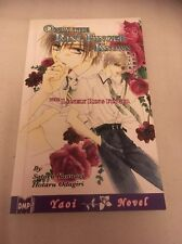 Only The Ring Finger Knows Yaoi Anime/ Manga Book Volume 1 Good Condition