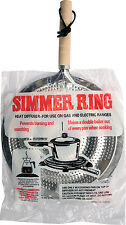 NEW SIMMER RING HEAT DIFFUSER FOR GAS OR ELECTRIC COOKER COOKING HOB TAGINE