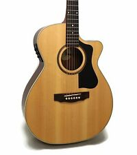 Guild AO-3CE Arcos Series Orchestra Cutaway Acoustic-Electric Guitar - w/ Case