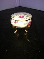 FLOWER PINK ROSE TRINKET RING HOLDER NUMBERED 1239