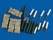 Verlinden 1/35 M1A1 Abrams Tank 120mm Ammo Shells, Cartridges and Cases 1964