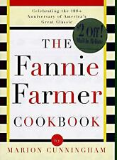 The Fannie Farmer Cookbook by Marion Cunningham (1996, Hardcover, Anniversary)