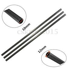 12mm OD*10mm ID*500mm Length Glossy Surface Carbon Fiber Tube For Multicopter