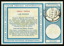 IRC PS INTERNATIONAL REPLY COUPON INDIA 1974 BOMBAY INDE