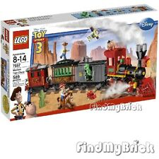 Lego 7597 Toy Story Western Train Chase Buzz Lightyear Jessie Woody - Sealed NEW