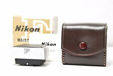 Nikon F WAIST LEVEL VIEW FINDER  w/Case  Boxed  SN20161021  **Near Mint**