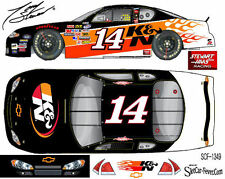CD_1349 #14 Tony Stewart  K&N Filters Chevy Fantasy Car 1:64 scale decals ~SALE~