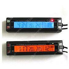 LCD Thermometer Spannungsmonitor für Auto Innen/Aussen